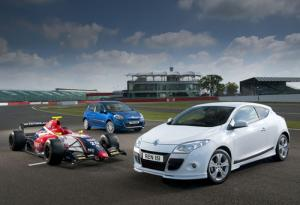World Series by Renault special edition Clio, Megane Hatch and Megane Coupe