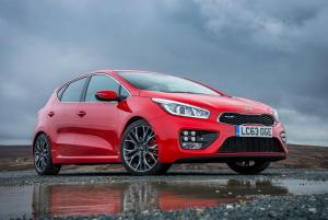 Five-door Kia Cee'd GT on sale now from £20,495