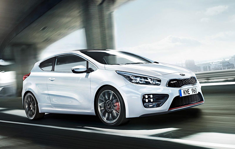 First official photos of new Kia pro_cee'd GT and cee'd GT