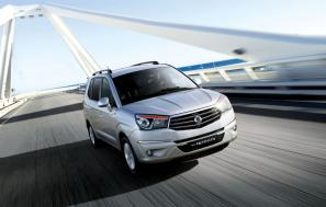 The new 2013 SsangYong Rodius