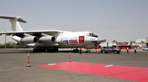 Nissan Patrol pulls 170 ton cargo plane