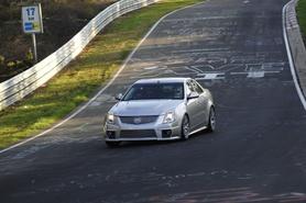 Cadillac CTS-V completes Nurburgring lap in 7mins 59secs