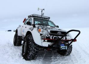 Toyota Hilux conquers Antarctica on jet fuel
