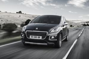 Face-lifted Peugeot 3008 Crossover on sale now, priced from £16,995