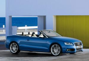 New supercharged Audi S5 Cabriolet