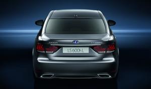 2013 model year Lexus LS range revealed