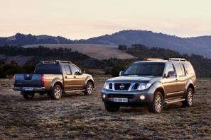 Nissan Navara and Pathfinder revised for 2010