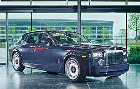 Centenary Phantom unveiled in Manchester