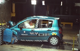 Renault Modus achieves five stars in Euro NCAP tests
