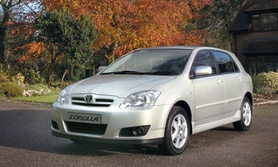 Toyota Corolla Colour Collection revised