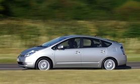 Handling enhancements and leather option for Toyota Prius