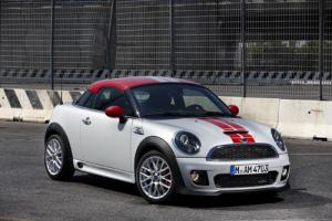The new Mini Coupe is revealed