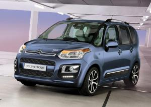 Newly restyled Citroen C3 Picasso on sale now in the UK