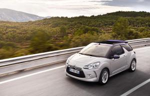 New Citroen DS3 Cabrio on sale 1st March 2013, priced from £15,045