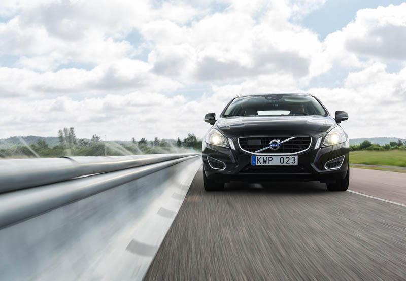 Volvo Barrier Detection