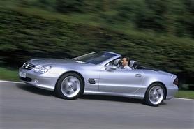"Mercedes SL Class ""Edition 50"" celebration"