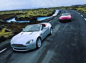 Aston Martin Launches the V8 Vantage Roadster