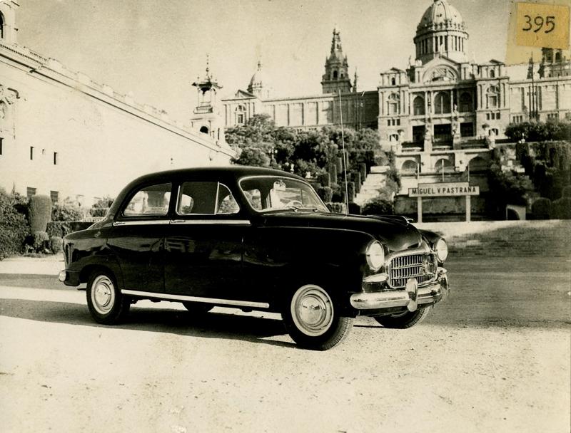 50s: Advertising SEAT 1400