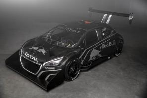 Sebastien Loeb and the Peugeot 208 T16 Pikes Peak