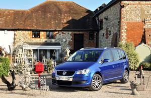 Volkswagen Touran BlueMotion and Sharan BlueMotion