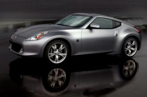 New 2009 Nissan 370Z Coupe first official photos released