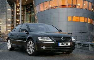Subtle revisions for Volkswagen Phaeton