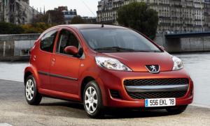2009 Peugeot 107 gets a facelift
