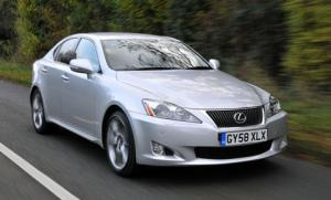 Lexus IS 220d CO2 emissions reduced