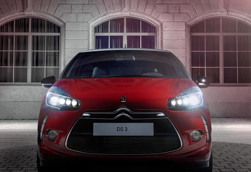 citroen ds3 and ds3 cabrio gain new lights greater efficiency news testdriven. Black Bedroom Furniture Sets. Home Design Ideas