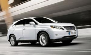 New Lexus RX 450h achieves CO2 emissions of 148g/km