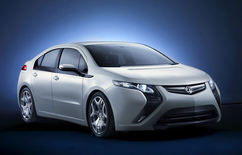 Vauxhall Ampera confirmed for UK market