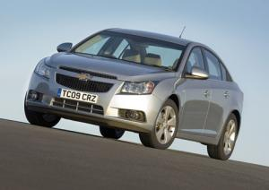 Prices announced for new Chevrolet Cruze