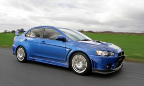 Mitsubishi Lancer Evolution X FQ-400 on sale June 2009