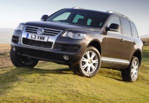 New Volkswagen Touareg BlueMotion
