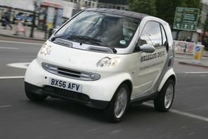 Electric Smart fortwo to arrive in UK in 2010