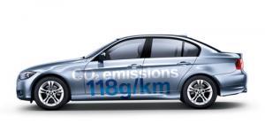 The new BMW 316d ES Saloon