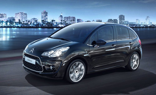 The new 2010 Citroen C3