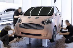 Aston Martin luxury commuter concept – the Cygnet