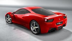 The new Ferrari 458 Italia