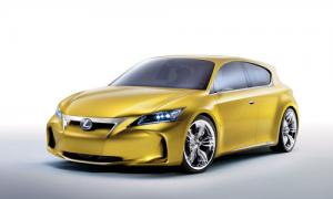 Official photos of Lexus LF-Ch concept released