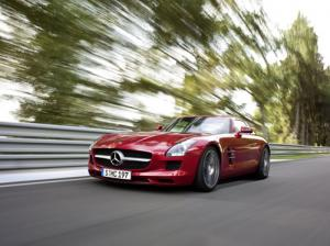 The new Mercedes-Benz SLS AMG