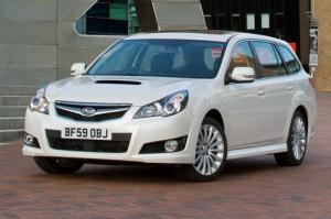 New Subaru Legacy Tourer on sale now