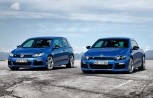 Prices for VW Scirocco R and Golf R announced