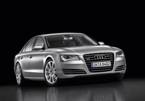 The new 2010 Audi A8