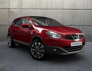 Nissan Qashqai updated for 2010