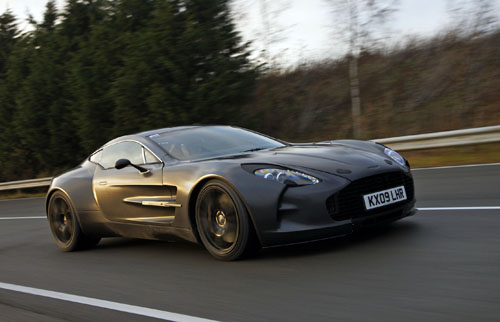 Aston Martin One-77 is fastest Aston ever