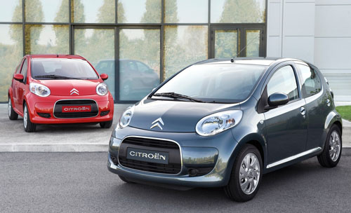 Citroen C1 VTR+ and Splash models