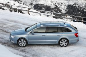 The new Skoda Superb Estate 4×4