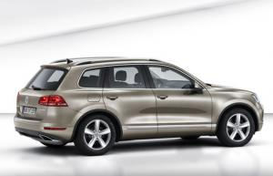 The new 2010 VW Touareg