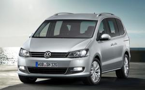 New Volkswagen Sharan shown at Geneva